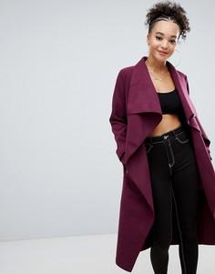 Легкое oversize-пальто Missguided - Красный