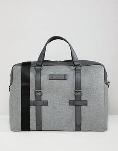 Шерстяная сумка для документов Ted Baker - Серый