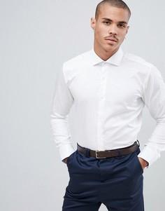 Белая эластичная рубашка Ted Baker - Белый