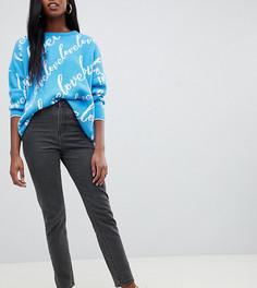 Укороченные джинсы в винтажном стиле Noisy May Tall - Черный