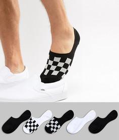Набор из 5 пар невидимых носков ASOS DESIGN - Мульти