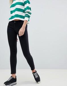 Черные джинсы скинни с заниженной талией Pull&bear - Черный Pull&;Bear