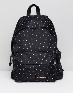 Черный рюкзак с принтом Eastpak Padded Pakr - Черный