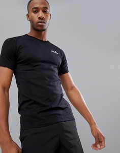 Черная компрессионная футболка ellesse - Черный