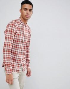 Красная рубашка в клетку Farah Mcintyre - Красный