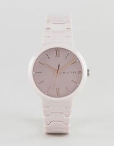Керамические наручные часы Tommy Hilfiger Avery — 36 мм - Розовый