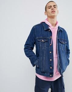 Синяя джинсовая куртка Brooklyn Supply Co - Синий