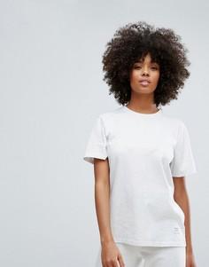Свободная футболка Converse Essentials Premium - Серый