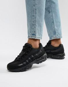 Черные кроссовки Nike Air Max 95 609048-092 - Черный