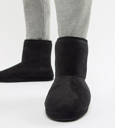 Черные ботинки-слиперы ASOS DESIGN - Черный
