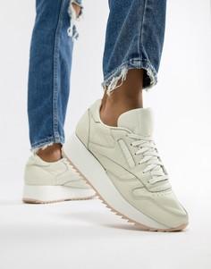 Кожаные кроссовки Reebok Classic - Белый