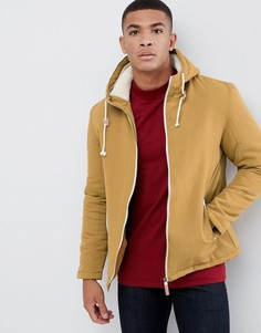 Куртка с капюшоном и фиксаторами-тогл Brave Soul - Рыжий