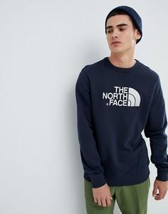 Темно-синий свитшот с круглым вырезом The North Face - Темно-синий