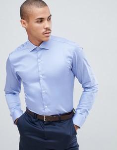 Синяя эластичная рубашка Ted Baker - Синий