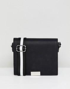 Черная сумка через плечо Pull&bear - Черный Pull&;Bear