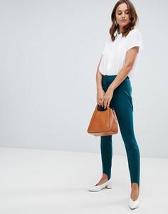 Горнолыжные брюки из ткани понте Closet London - Зеленый