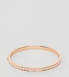 Золотисто-розовый браслет с искусственным жемчугом Ted Baker - Золотой
