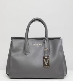 Серая сумка тоут Valentino by Mario Valentino - Серый