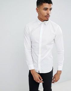 Приталенная рубашка Jack & Jones Essentials - Белый