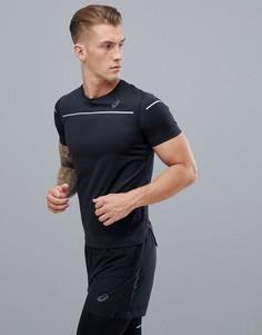 Черная футболка Asics Running Lite-Show - Черный