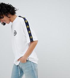 Белая футболка в стиле колор блок Converse - Белый