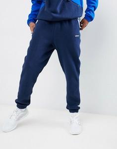 Темно-синие флисовые джоггеры adidas Originals EQT DH5190 - Темно-синий