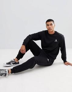 Черные зауженные джоггеры Converse 10008815-A01 - Черный