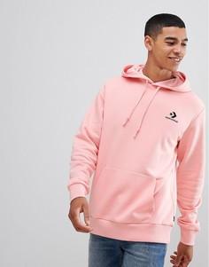 Худи розового цвета с логотипом Converse 10009140-A02 - Розовый