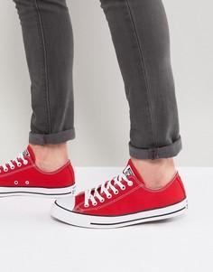 Красные кеды Converse All Star ox m9696 - Красный