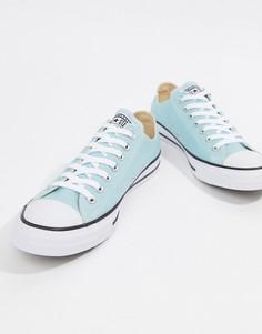 Светло-голубые кеды Converse Chuck Taylor All Star Ox 160460C - Синий