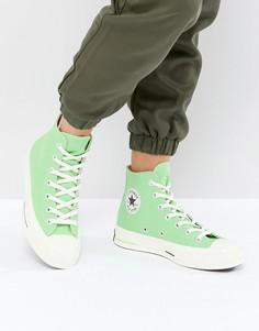 Зеленые высокие кроссовки Converse Chuck Taylor All Star 70 - Зеленый
