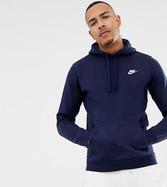 Худи темно-синего цвета Nike 804346-451 - Темно-синий