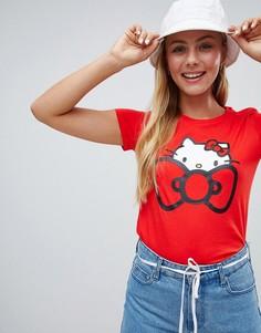 Красная футболка Converse X Hello Kitty - Красный