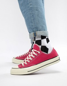 Розовые кроссовки Converse Chuck Taylor All Star 70 Ox 161445C - Розовый