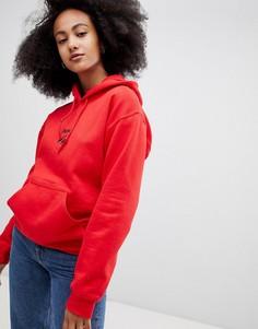 Худи с надписью Juicy cherry Adolescent Clothing - Красный