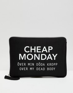 Чехол для ноутбука Cheap Monday - Черный