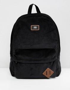 Черный вельветовый рюкзак Vans Old Skool II VN000ONIZ471 - Черный