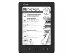 Электронная книга Ritmix RBK-676FL Black