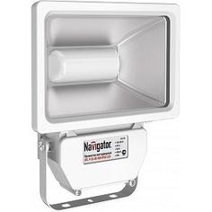 Светодиодный прожектор navigator 94 640 nfl-p-50-4k-wh-ip65-led аналог ио 500вт 4607136946408 268572