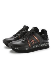 Комбинированные кроссовки Liz на шнуровке Premiata