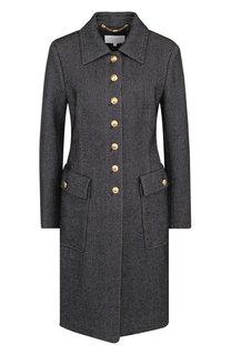 Пальто из смеси шерсти и хлопка Escada Sport