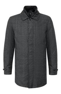 Шерстяная пуховая куртка на молнии Woolrich