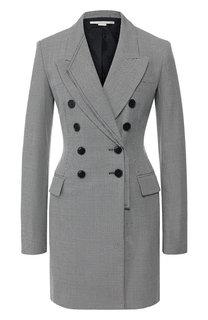 Двубортное шерстяное платье Stella McCartney