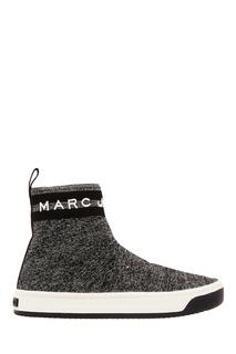 Кроссовки с люрексом Marc Jacobs