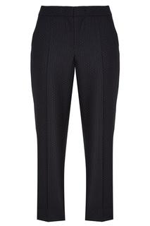 Черные брюки в горошек Platone Max Mara