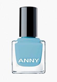 Лак для ногтей Anny парфюмированный, тон 404.40 голубой