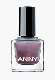 Лак для ногтей Anny тон 366.10 голографик розовый с зеленью
