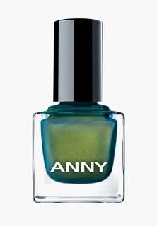 Лак для ногтей Anny тон 370.10 голографик золото с зеленью