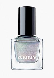 Лак для ногтей Anny тон 702 голографик серебро
