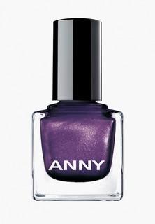Лак для ногтей Anny тон 208.10 фиолетовый с перламутром